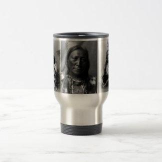 Geronimo, Hollow Horn Bear, and Sitting Bull Travel Mug