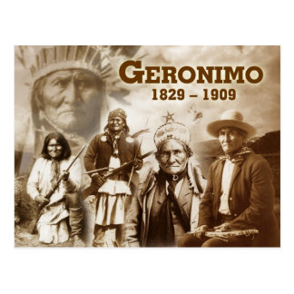 Geronimo of the Chiricahua Apache Postcard