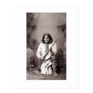 Geronimo - Vintage Postcard