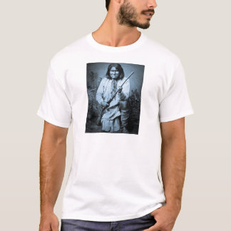 Geronimo with Rifle 1886 T-Shirt