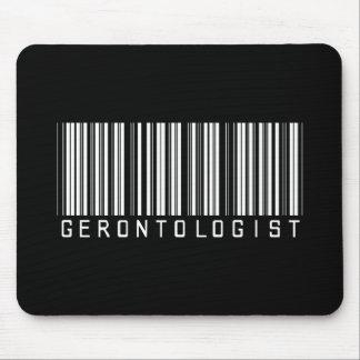 Gerontologist Bar Code Mouse Pad