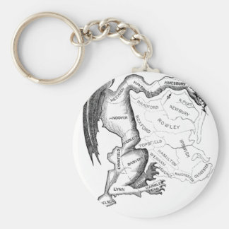 Gerry-Mander Key Ring