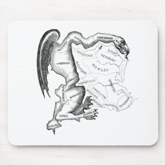 Gerry-Mander Mouse Pad