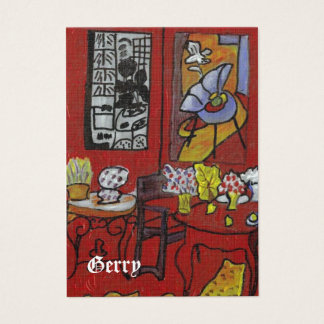 GERRYS MATISSE PORTABLE ART BUSINESS CARD