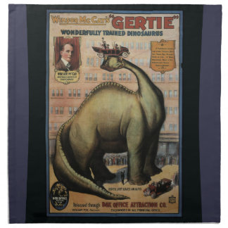 Gertie The Dinosaur Napkin