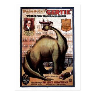 Gertie the Dinosaur Postcard