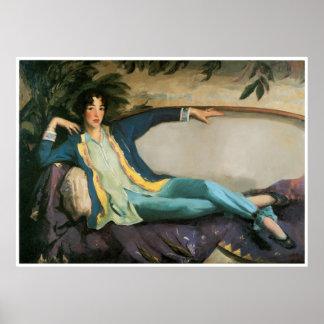 Gertrude Vanderbilt Whitney, Robert Henri Poster