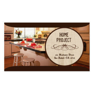 Gerty's Home Project Business Cards