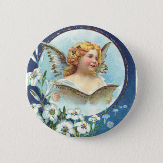 Gesegnete Ostern, Blessed Easter 6 Cm Round Badge