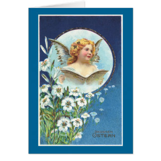 Gesegnete Ostern, Blessed Easter Card