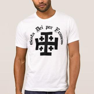 Gesta Dei per Francos, patriotic Tee-shirt T-Shirt