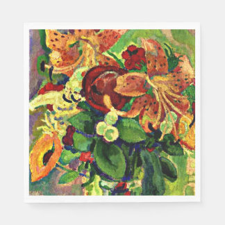 Gestel - Still Life with Tiger Lilies Paper Serviettes