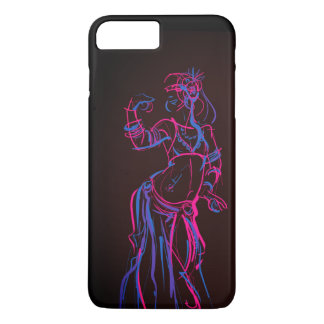 Gesture sketch drawing  tribal fusion bellydancer iPhone 8 plus/7 plus case