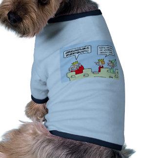 gesundheit king health care universal pet shirt