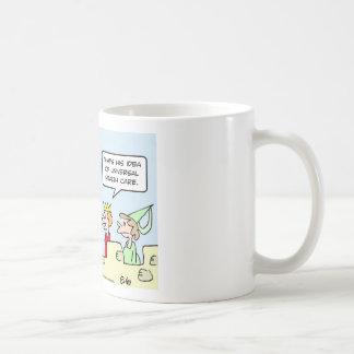 gesundheit king health care universal coffee mug