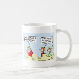 gesundheit king health care universal coffee mugs
