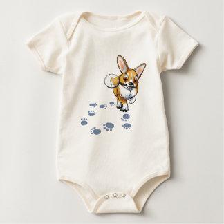 """Get a Clue"" Corgi Baby Bodysuit"