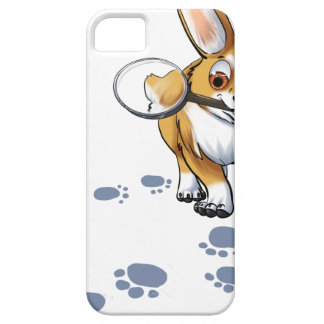 """Get a Clue"" Corgi Case For The iPhone 5"