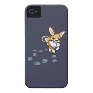"""Get a Clue"" Corgi Case-Mate iPhone 4 Cases"