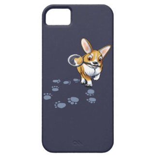 """Get a Clue"" Corgi iPhone 5 Case"
