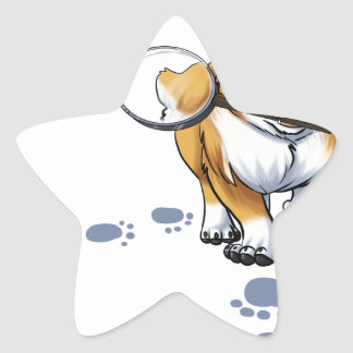 """""""Get a Clue"""" Corgi Star Sticker"""