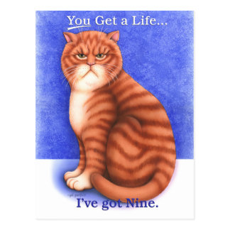 Get a Life Postcard