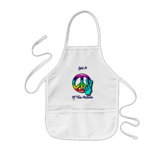 """Get a Piece """"Peace"""" of the Action Kids Apron"""