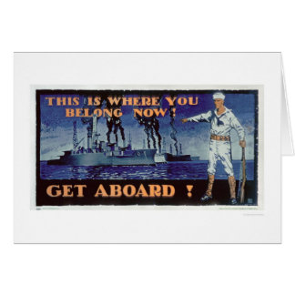 Get Aboard! (US02156) Greeting Card
