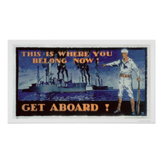 Get Aboard! (US02156) Posters