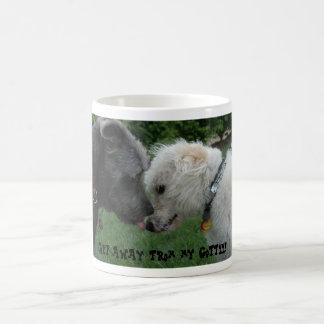 Get away from my coffee! coffee mug