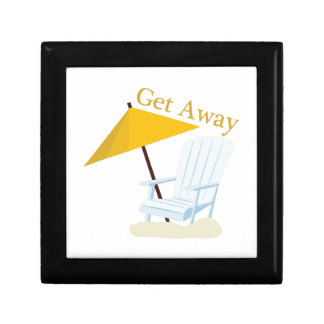 Get Away Small Square Gift Box