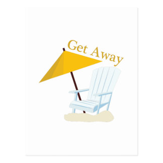 Get Away Postcard