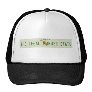 GET AWAY WITH MURDER IN FLORIDA BASEBALL CAP