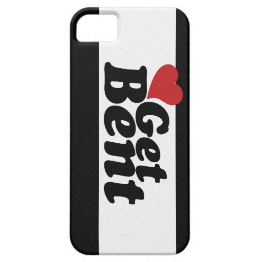 Get Bent iPhone 5 Case