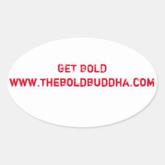 Get Bold Sticker
