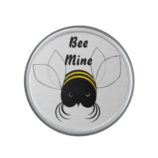 Get Buzzin, Bee Mine, Cute crazy Bee Bluetooth Speaker