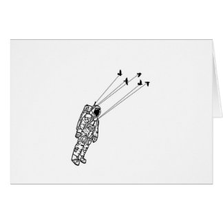 get carried away greeting card