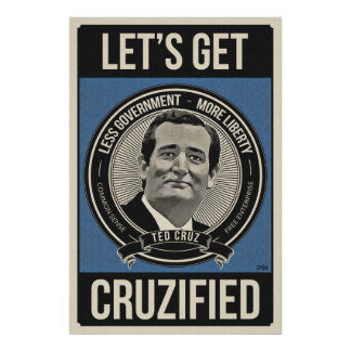 Get Cruzified Poster