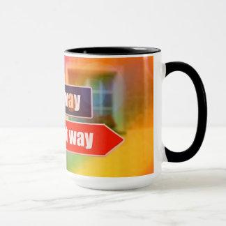 Get Directions 15 oz Coffee Mug By Zazz_it