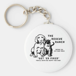 get er fixed basic round button key ring