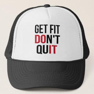 Get Fit Don't Quit - DO IT Trucker Hat