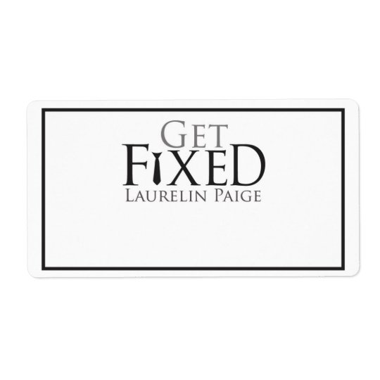Get FIXED Bookplate