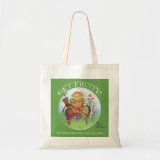Get Fruity! natural canvas tote bag