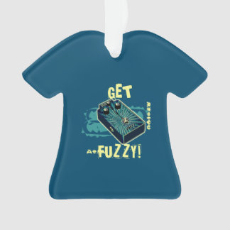 Get Fuzzy! Fuzz Guitar Pedal Blue Psychedelic
