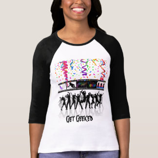 Get Geeked Long Sleve T T-Shirt
