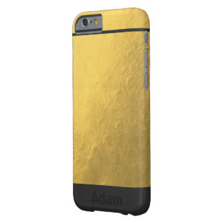 Get Gold Barely There iPhone 6 Case