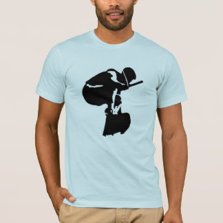 Get high on air wake boarding t-shirt