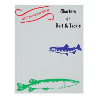 Get hooked full color flyer