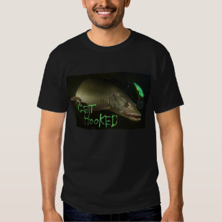 Get Hooked Muskellunge T Tees