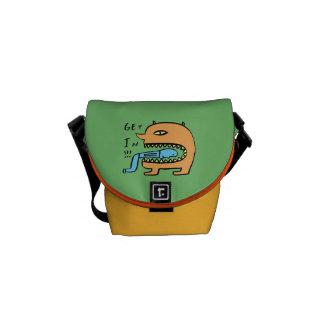 Get In Messenger Bag